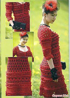 *Платье от Ванессы Монтеро - Все в ажуре... (вязание крючком) - Страна Мам