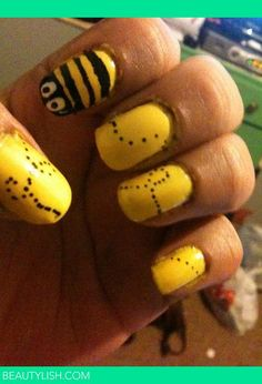 Bee Nails   Elizanette L.'s Photo   Beautylish