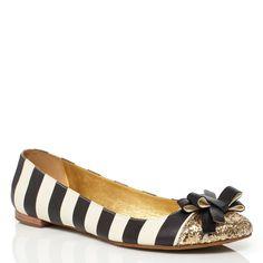 striped and glittery and a bow! katespade.com