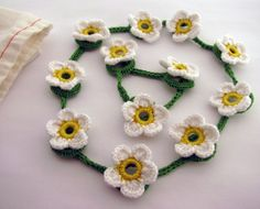 Girls Daisy Chain Playset Fairy Accessory by LittleLemonSweet, $17.00
