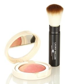 Laura Geller Baked Flambe Blush with Retractable Baked Powder Brush .17 Oz * This is an Amazon Affiliate link. More info could be found at the image url.