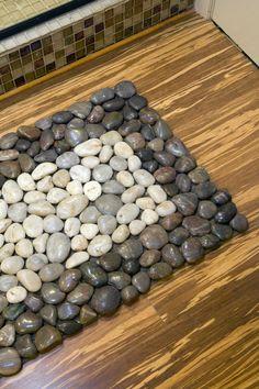 great idea: pebble door mat