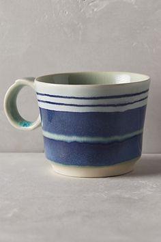 Anthropologie EU Watercolour Mug