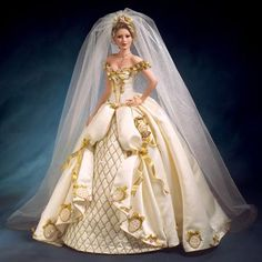 BRIDE Jewel Of A Perfect Love Faberge Doll by Cindy McClure DOTY AWARD 2006