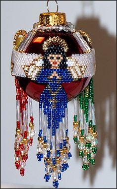 3 Angels Ornament Cover by Rita Sova