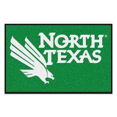 North Texas Mean Green NCAA Starter Floor Mat (20x30)