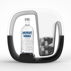 Serving set concepts for Absolut Vodka by Martin Hoontrakul at Coroflot.com