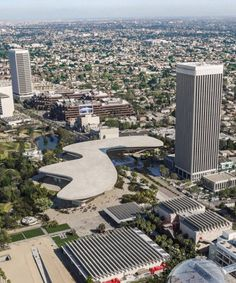 fresh images have been revealed of swiss architect peter zumthor's scaled-down design for the new LACMA building in los angeles, california. Ancient Architecture, Sustainable Architecture, Landscape Architecture, Transparent Concrete, Lacma Los Angeles, New Academy, Glass Pavilion, Peter Zumthor, Glass Facades