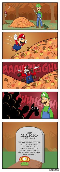 Mario's greatest prank.