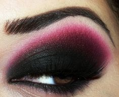 #sexy #pink #makeup #eye shadow