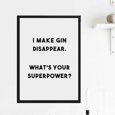 Are you interested in our gin quote prints? With our gifts for gin lovers you need look no further.