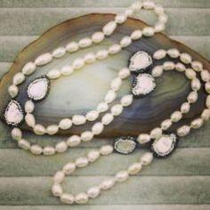 #Pear #Necklace by Katherine Kelly Jewelry