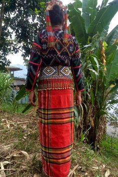 Tboli tribe Lake Sebu Mindanao Philippines dress back