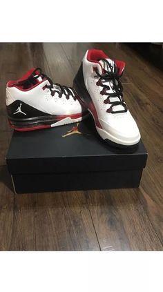 wholesale dealer c05e0 8ffef JORDAN FLIGHT ORIGIN 2 BG (705160-106) White White-Black-Gym Red US Sz 6Y   fashion  clothing  shoes  accessories  kidsclothingshoesaccs  unisexshoes  (ebay ...