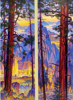 'Sequence Of Nature, Okanagan Nostalgia'
