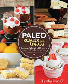 paleo desserts and sweets