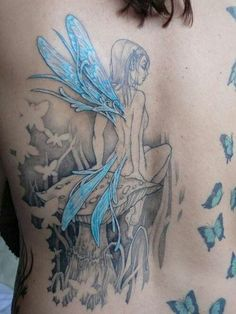 Love this fairy tattoo