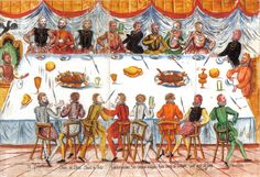 1558 - German - Coronation of Ferdinand I - - note seating, also glass shapes