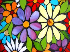 stained-glass-flowers