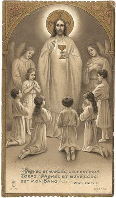 """Do you realize that Jesus is there in the tabernacle expressly for you - for you alone? He burns with the desire to come into your heart…don't listen to the demon, laugh at him, and go without fear to receive the Jesus of peace and love…"" - St. Therese of Lisieux"