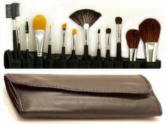 14 Piece Master Makeup Brush Applicator Set. #beauty, #tool, #makeup, #brushes