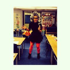 My super VILAN costume to teach at superhero high! To inspire a big write !