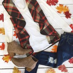 Ruffles AND plaid?? Yes please!