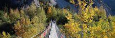 Pont bhoutanais Loèche/Susten | Pont suspendu spectaculaire Wallis, Grand Canyon, Instagram, Painting, Suspension Bridge, Top, Communities Unit, Explore, Mountains
