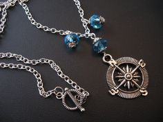 Nautical Jewelry Compass Jewery Sailing Jewelry by jewelryrow, $18.00 https://www.etsy.com/listing/108928349/nautical-jewelry-compass-jewery-sailing