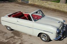 1955 Ford Zephyr Convertible. Check out the amazing interior.