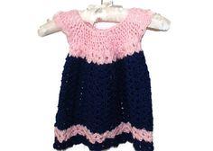 Easter Baby Dress Crochet Newborn Dress Baby by lanacooper on Etsy,