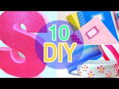 5 Minute Crafts To Do When You're BORED! 10 Quick and Easy DIY Ideas! Amazing DIYs & Craft Hacks! - YouTube