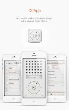 // T3 Player App by Eder Rengifo, via #Behance #Mobile #App #UI