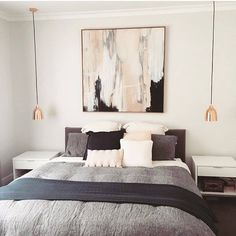 We love seeing how you style your Block Shop pieces - especially when they look as gorgeous as this! bought the framed artwork, 'Fredrika'. Bedroom Artwork, Bedroom Prints, Framed Artwork, Bedroom Wall, Wall Art, Bedroom Design Inspiration, Bedroom Inspo, Design Bedroom, Bedroom Ideas