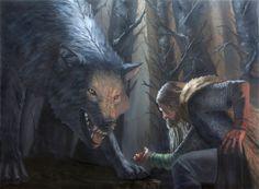 Sacrifice, a tale of Tyr and Fenrir by DymondStarr on DeviantArt
