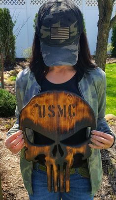 This item is unavailable Welding Projects, Wood Projects, Cool Tactical Gear, Firefighter Decor, Wooden American Flag, Punisher Skull, Wood Burning Crafts, Wood Flag, Cnc Wood