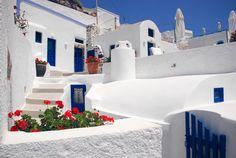 Imerovigli, Greece by Olga Larkina Photography www.olgalarkina.com Santorini, Greece, Mansions, House Styles, Photography, Home Decor, Greece Country, Photograph, Decoration Home