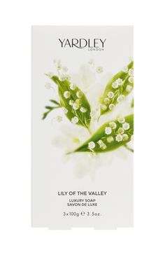 3 Σαπούνια, 100gr το ένα, Lily of the Valley Yardley