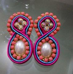 Zarcillos pink