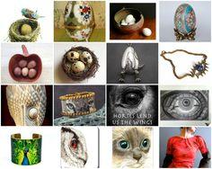 beautiful Etsy treasury~The Egg and Eye