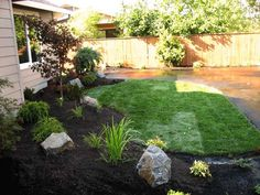 Easy Landscaping Ideas For Front Yard | Landscape Photos, Design Ideas | Boulder Falls Landscaping, Vancouver ...