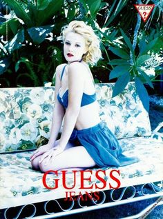 Drew Barrymore for Guess, 1993