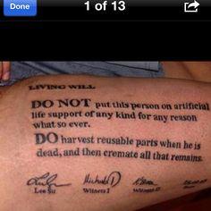 Do not resuscitate.