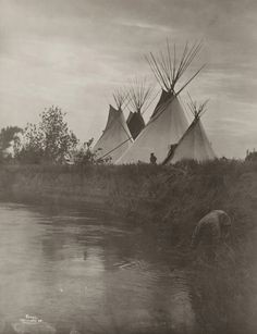 Lodges of the Chiefs by Museum of Photographic Arts Collections, via Flickr