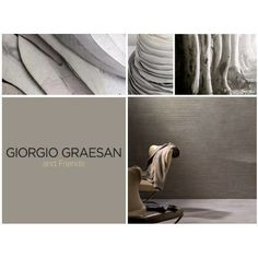 Classico e sofisticato il grigio della Pietra 2GD in questa versione di Istinto in Pietra Zen.  Classic and sophisticated grey from I colori della Pietra 2GD in this version of Pietra Zen. #giorgiograesan #lepitture #lovingecoliving #inspiration #moodboard #lovecolors