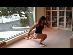 """Awesome at home workout. """"Rag Challenge""""  www.facebook.com/funkygine"""
