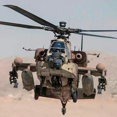 Apache in desert camo