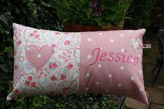 Handmade Personalised Cushion