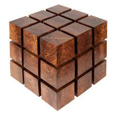 The Float table is a piece of furniture comprised of a matrix of wooden blocks that seem to levitate in perfect alignment. At first glance, this Rubik's Cube-looking counter looks like it's engineered by pure magic, but the secret to its construction is magnets! Brooklyn-based designers RockPaperRobot magnetized each each cube so that they repel …