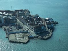 Spice Island Old Portsmouth from Spinnaker Tower
